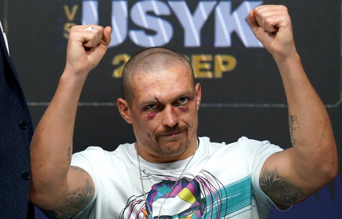 Canos finds shin pads and Usyk revels in AJ win – Sunday's sporting social