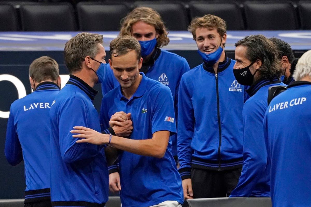 Europe claim fourth successive Laver Cup title with big win over World team