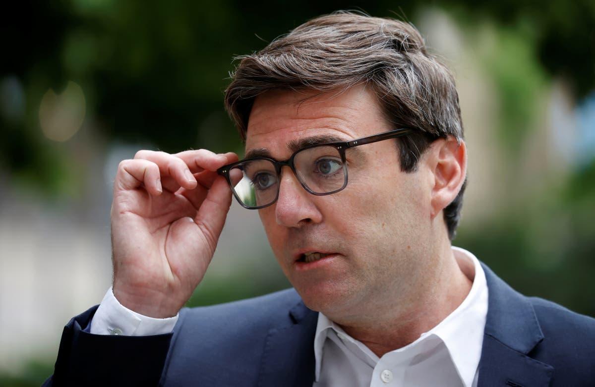 End Labour se concentre sur les batailles internes du parti, Burnham dit à Starmer