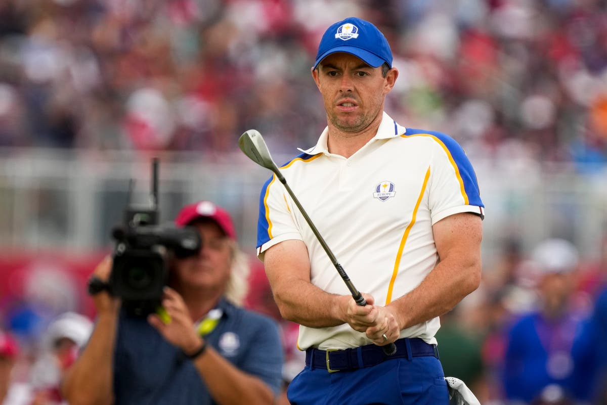 Rory McIlroy reduced to tears as dominant United States regain Ryder Cup