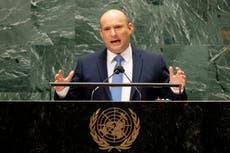 Israeli PM denounces Iran, ignores Palestinians in UN speech