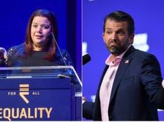Ana Navarro calls Donald Trump Jr a 'dimwit' after The View's Covid crisis