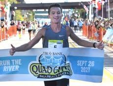 US marathon runnerwins race after frontrunners took wrong turn