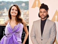 Fans react to rumours Angelina Jolie and The Weeknd are dating