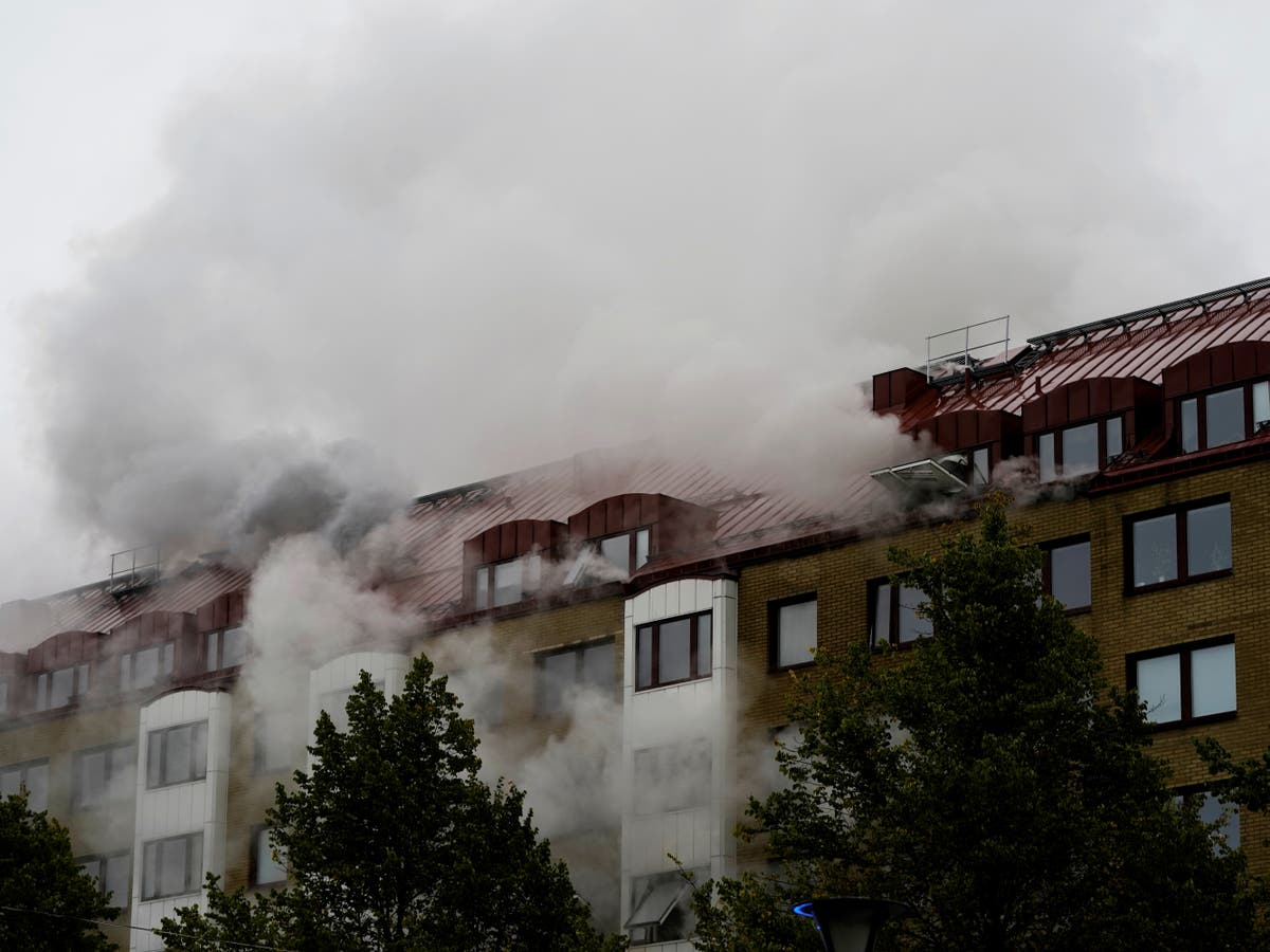 25 in hospital after explosion at block of flats in Sweden's Gothenburg