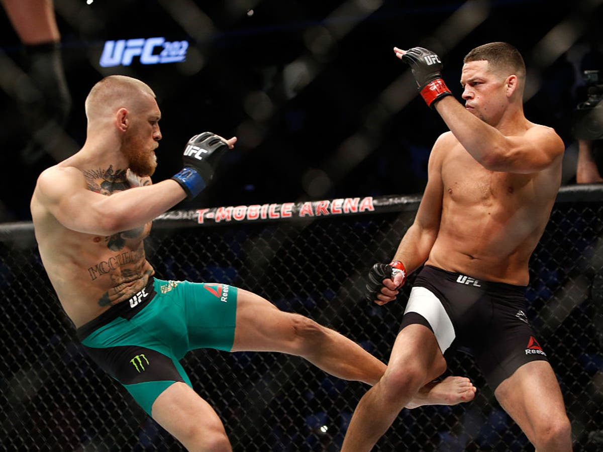 Conor McGregor reignites Nate Diaz rivalry after brother Nick Diaz's loss