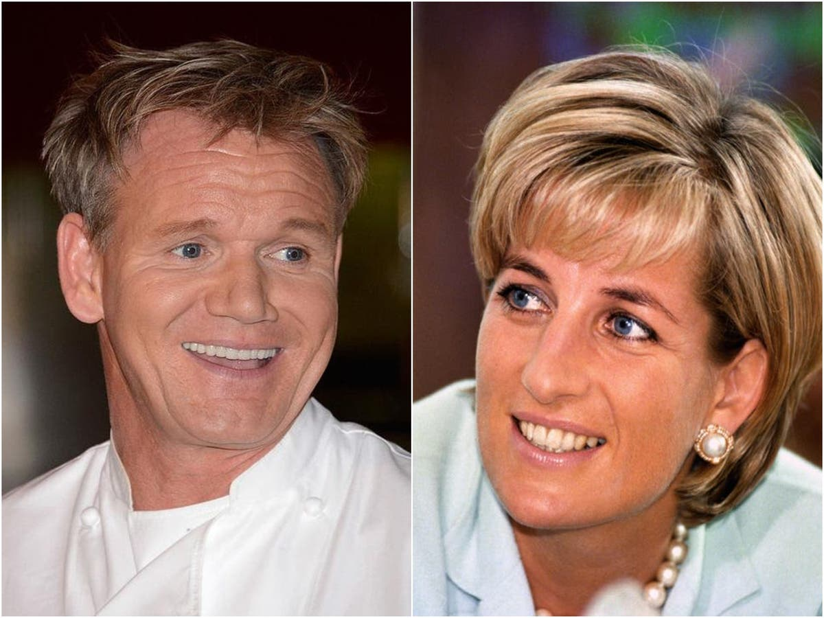 Gordon Ramsay on cooking for Princess Diana: 'By far one of the most gracious royals'