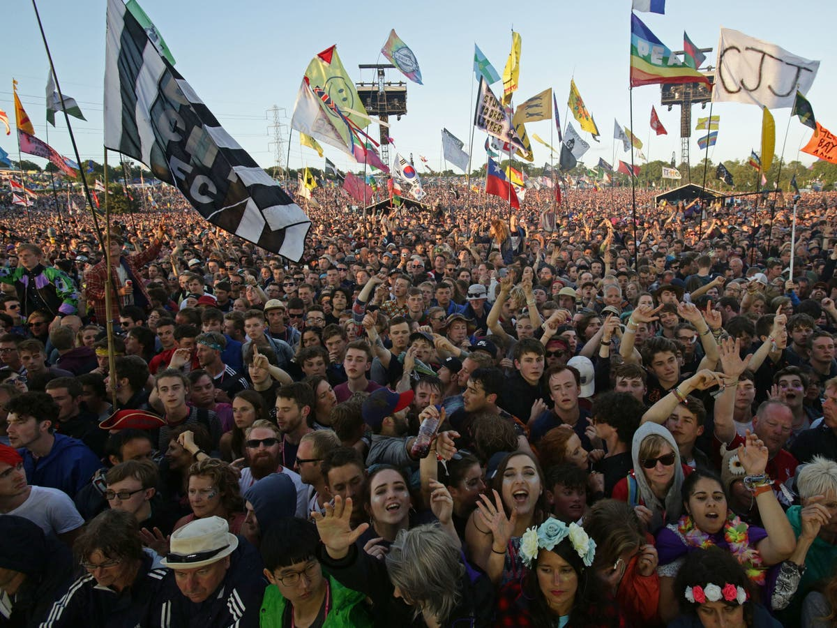 Drugs in urine from Glastonbury festival 'pose threat to rare eels'