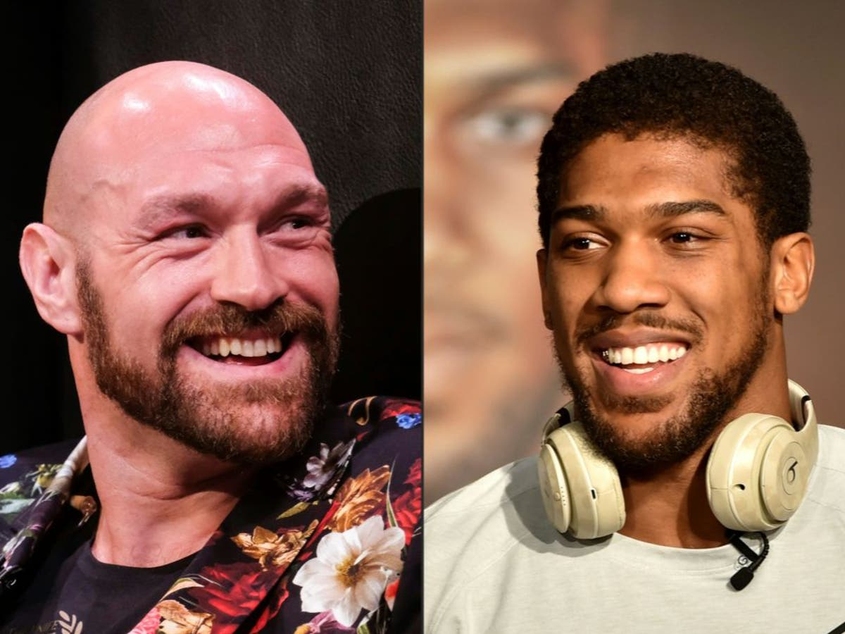 Tyson Fury's reaction to Anthony Joshua defeat revealed by promoter Frank Warren