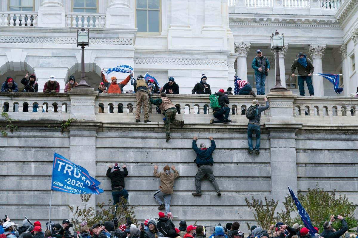 1月. 6 trials slowed by mounting evidence in US Capitol riot
