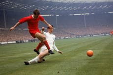 Roger Hunt: Liverpool legend and England World Cup winner dies aged 83
