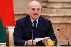 Belarus leader announces vote on a new constitution in 2022