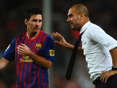 Lionel Messi will be happy in Paris, says Pep Guardiola as Man City prepare to face PSG in Champions League