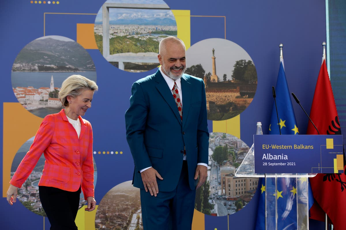 Albania complains its EU accession bid is being held hostage