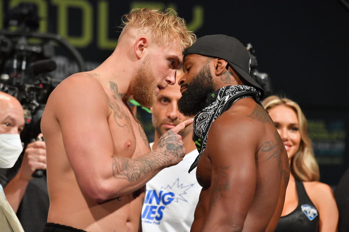 Tyron Woodley reveals 'I love Jake Paul' tattoo in pursuit of rematch
