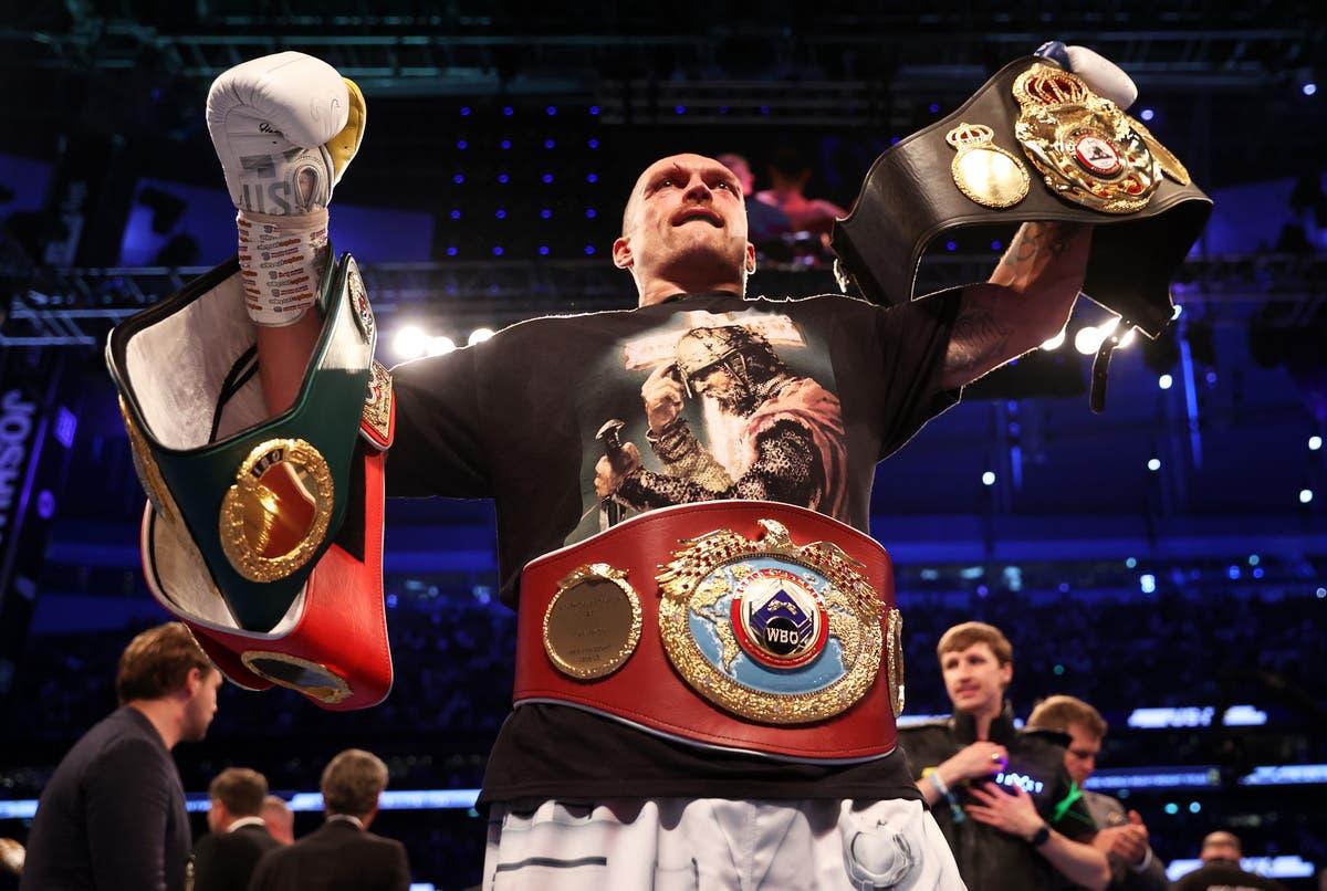 Oleksandr Usyk set for Anthony Joshua rematch as world champion eyes unification bout