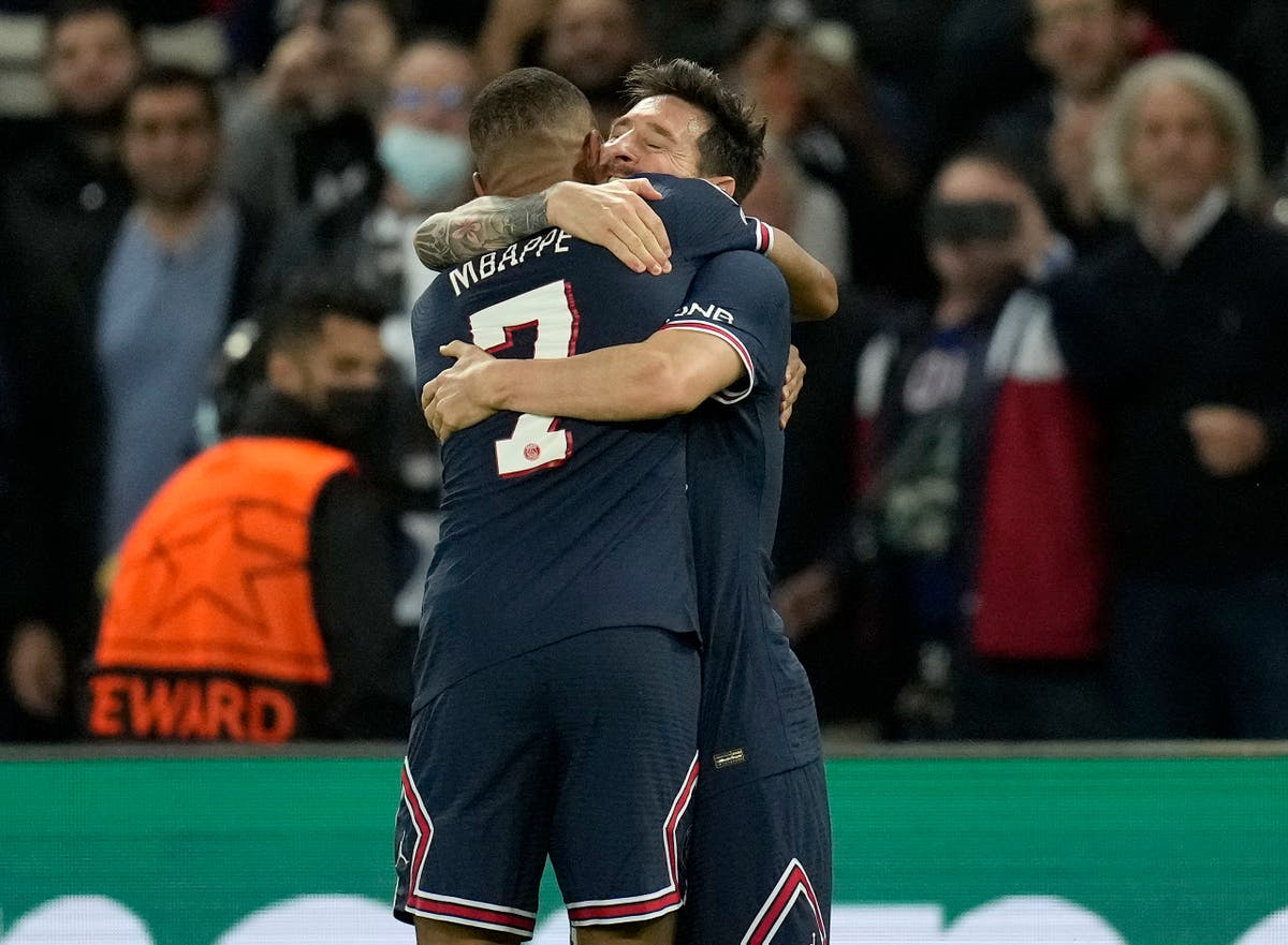 Lionel Messi shines in PSG win over Man City as Real Madrid stunned by Sheriff