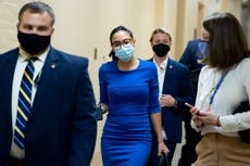 AOC says she owes it to community to fight for spending plan