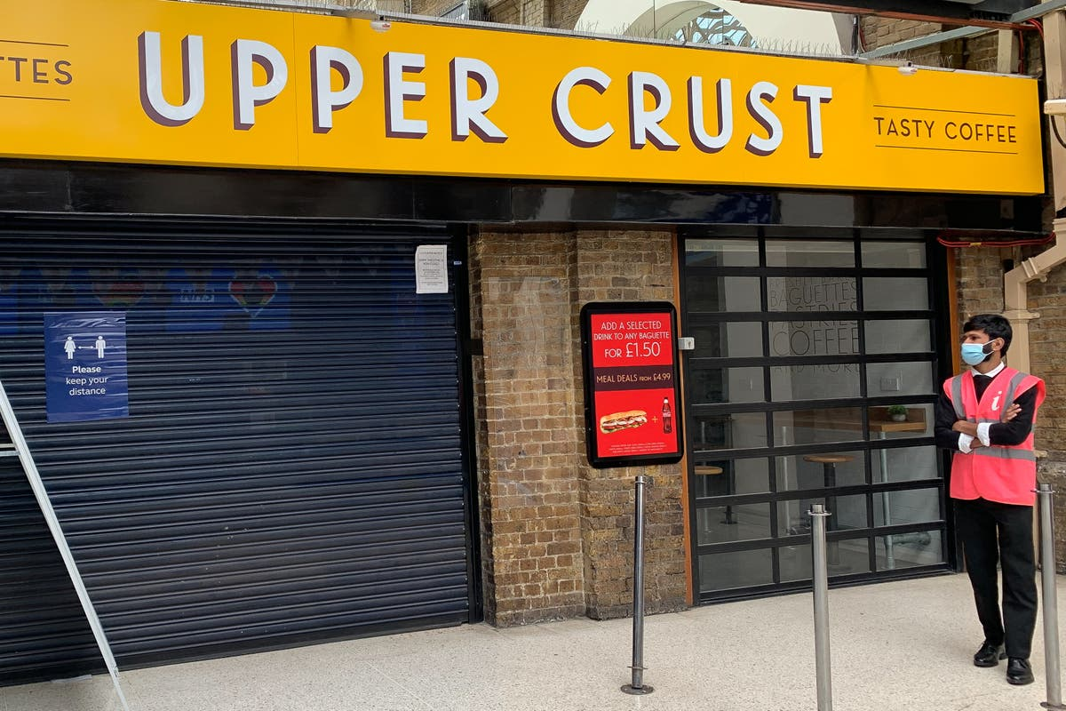 Upper Crust owner sees travellers return but sales still down on pre-Covid times