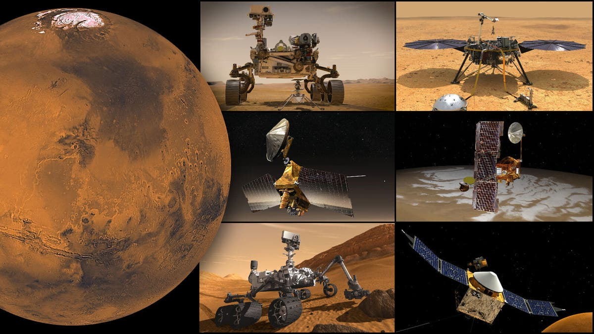 Nasa facing Mars blackout as it prepares to lose contact with robots for two weeks