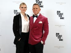 Daniel Craig attended No Time To Die premiere with daughter Ella