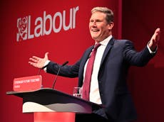Keir Starmer presents himself as serious leader for difficult times