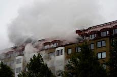 Politiet undersøker muligheten for at Gøteborg -eksplosjonen var forårsaket av eksplosiv enhet