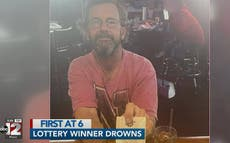 Man found dead with winning lottery ticket