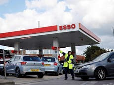 Petrol station workers get 'high level of abuse' despite signs of crisis easing