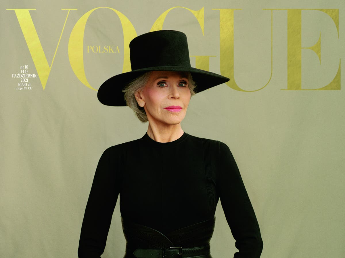 Jane Fonda covers Vogue Poland's 'courage' issue
