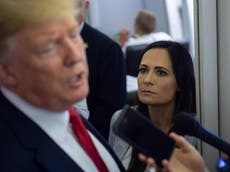 Stephanie Grisham admits she did not vote for Trump in 2020 but will not reveal who she supported