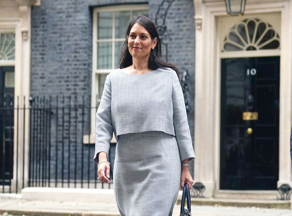 <p>Priti Patel's department is one of those accused of major transparency failings </s>