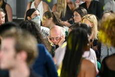 Larry David comments on picture of him at New York fashion week: 'It was very noisy'