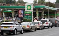 英国の一部で「悪化している」ガソリン危機, 業界は警告します