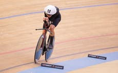 British cyclist Joss Lowden 'relieved' after breaking UCI Hour Record