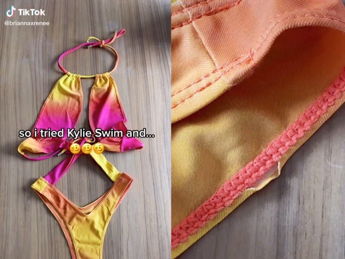 Kylie Jenner fans are slamming her new swimwear line
