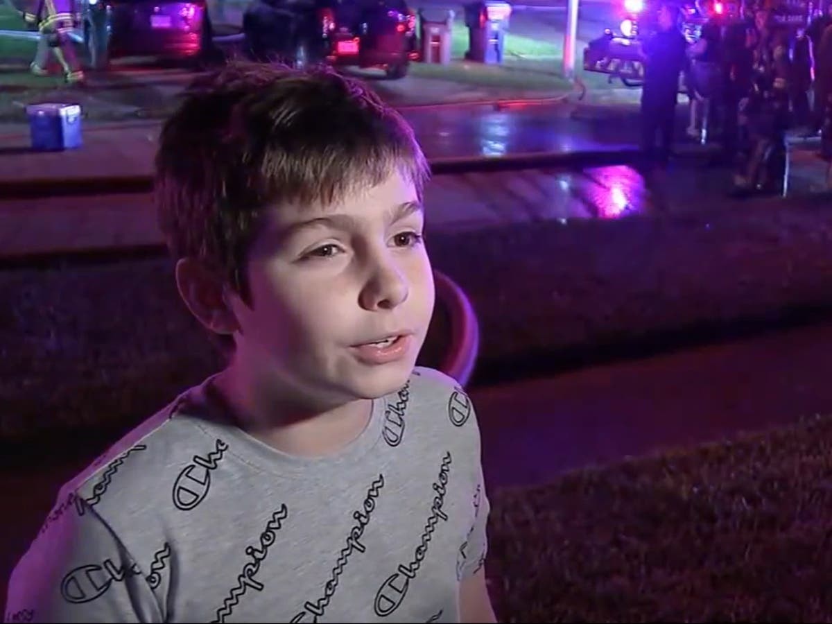 11-year-old goes door-to-door to save sleeping neighbours from house fire