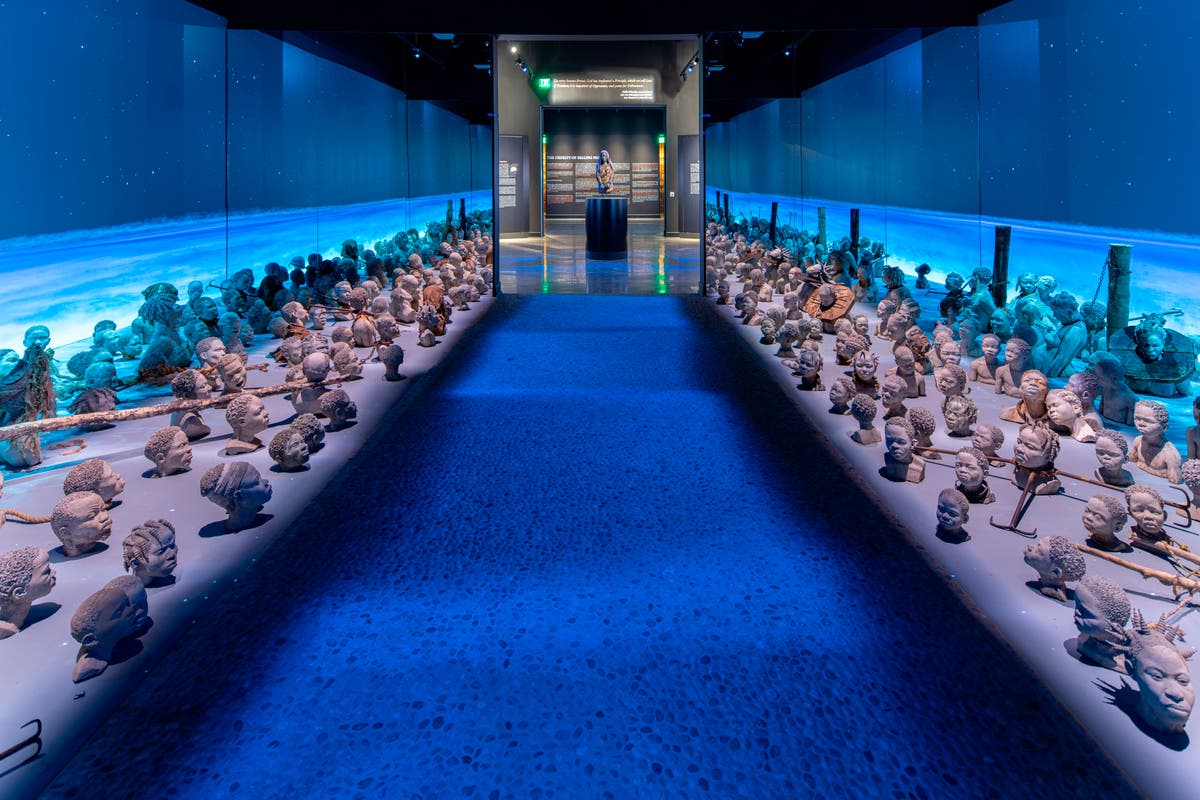 Expanded museum traces legacy of slavery in America
