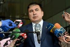 Ex-president Saakashvili says he is back in Georgia — despite arrest warrant
