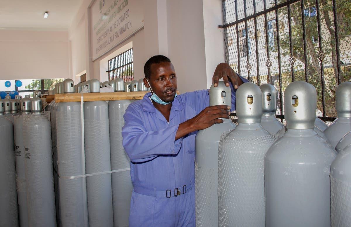 Somalia opens nation's 1st public oxygen plant amid pandemic
