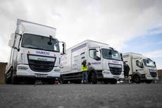 Undocumented migrants with HGV licences are sent official letters encouraging them to work