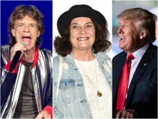 Trump accused of making lewd jokes about Trudeau's mom and The Rolling Stones