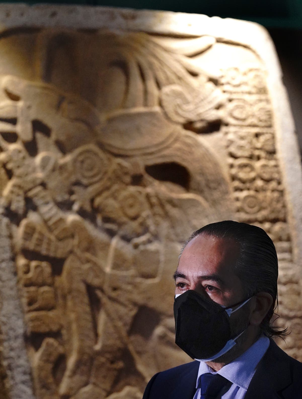 Mexico displays pre-Hispanic artifacts recovered from abroad