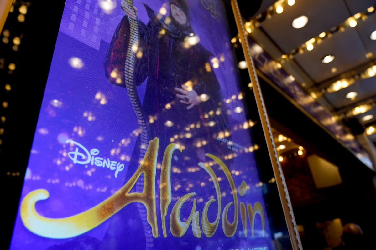 Broadway's 'Aladdin' goes dark for days as it battles virus