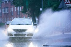 Flooding 'likely' as warnings issued over heavy rain and high winds