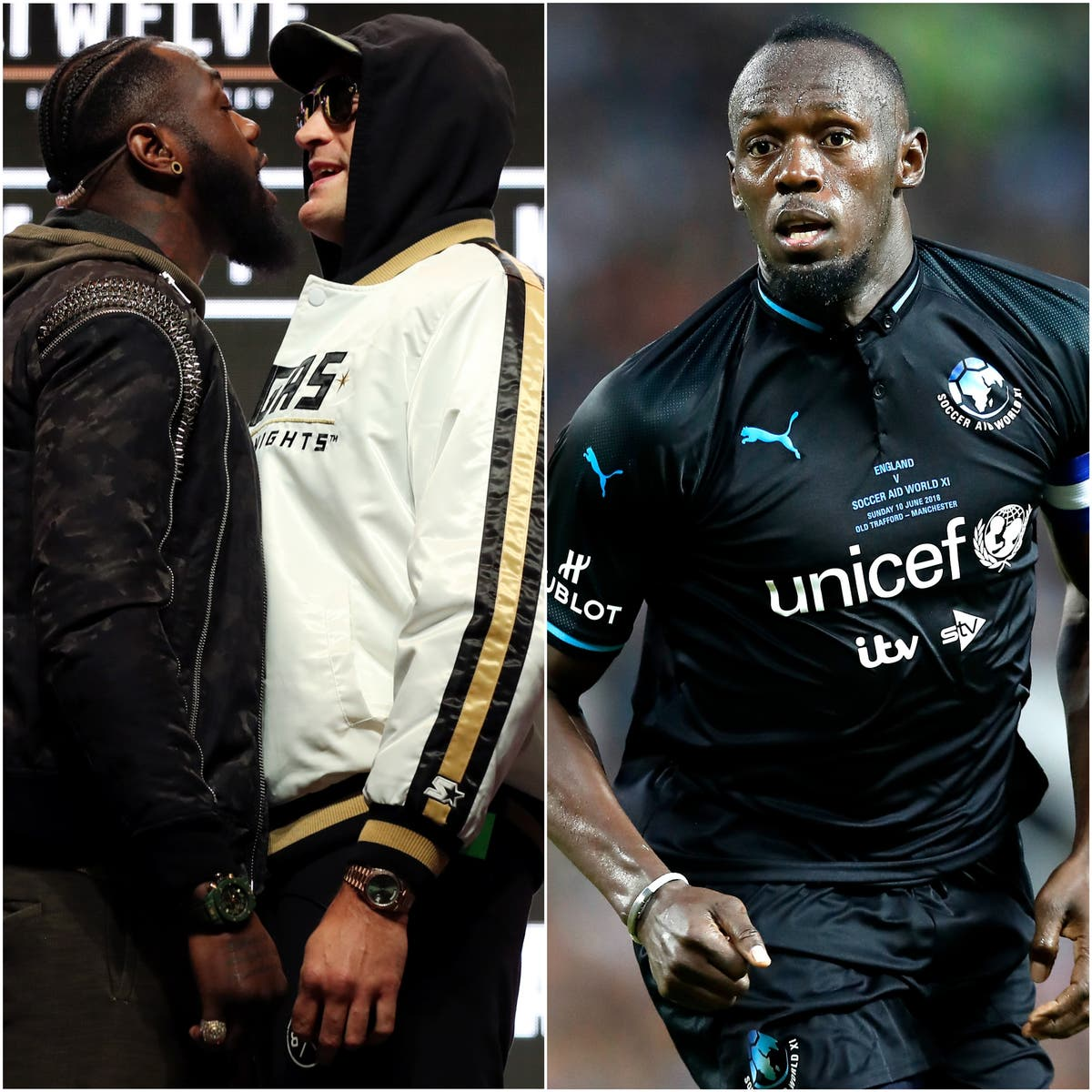 Fury and Wilder clash and big names at Old Trafford – Saturday's sporting social