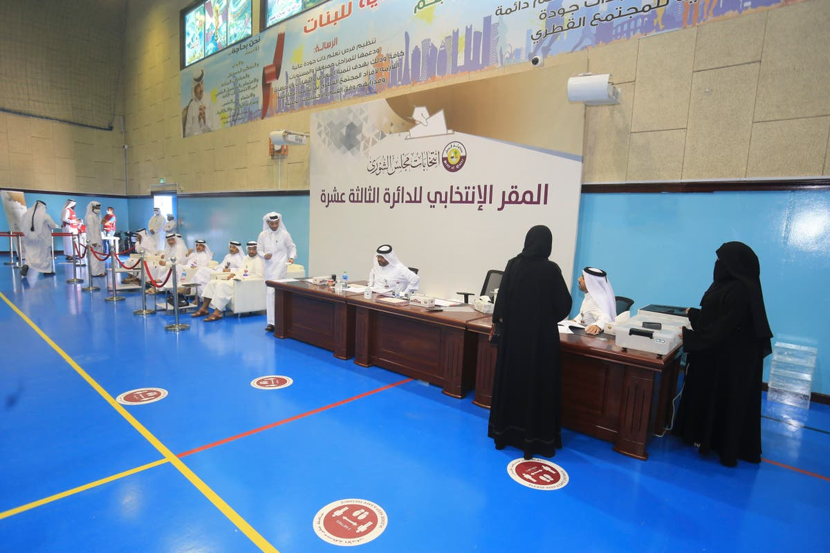 In modest step, Qatar holds its 1st legislative council vote