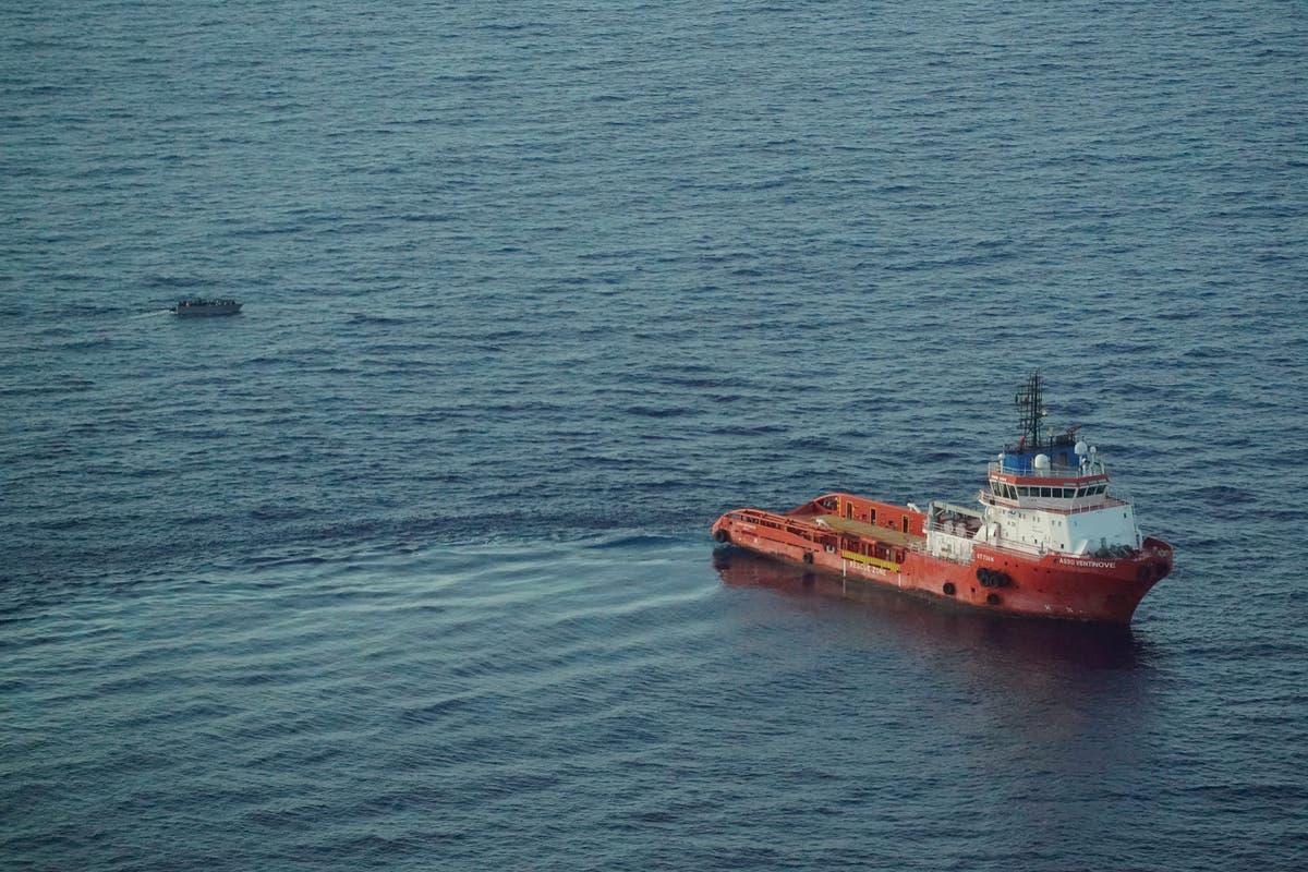 Italian vessel rescues 65 from migrant boat fleeing Libya