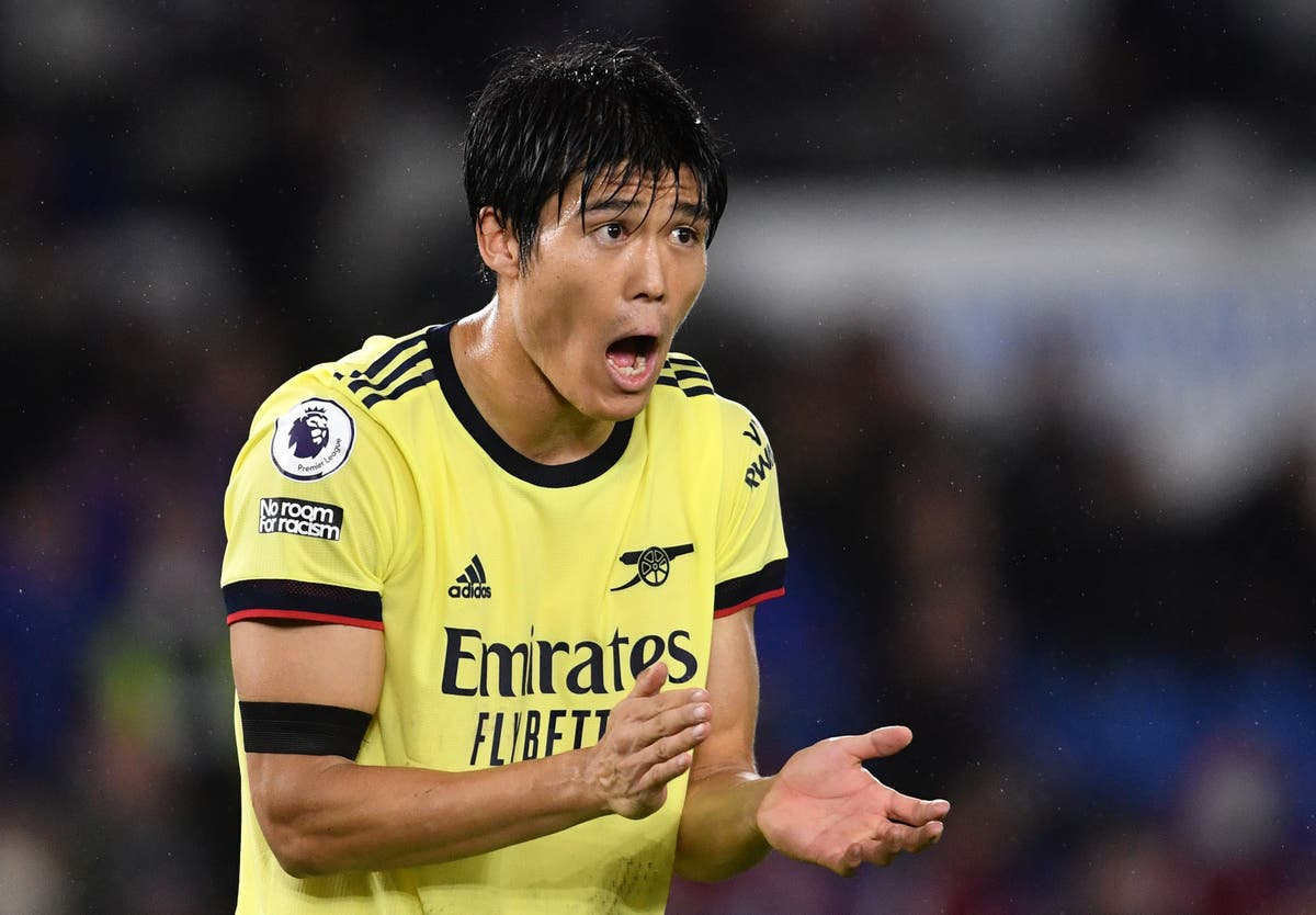 Takehiro Tomiyasu says Arsenal 'don't have to be negative' after Brighton draw