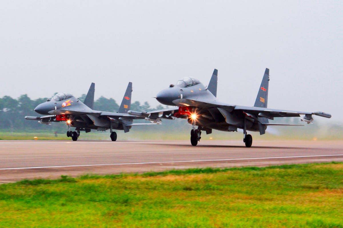US raises concern as China flies warplanes south of Taiwan